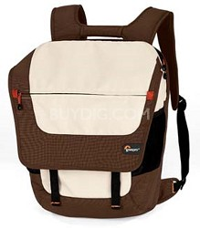 Lowepro Backpack Factor Laptop Bag - fits most 15.4 Laptops - Espresso / Latte