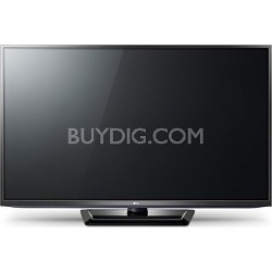 LG 50PM6700 50 inch 1080p 600Hz 3D Slim Bezel Plasma HDTV with Smart TV, Built-in Wi-Fi, Triple XD Engine