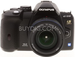 Olympus Evolt E-510 10.1MP Digital SLR with 14-42mm f3.5-5.6 Zuiko Digital Lens