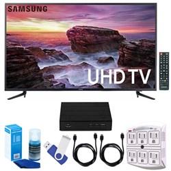 "Samsung 58"" Smart LED 4K UHD TV w/ Wi-Fi + Terk HD TV Tun..."