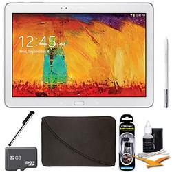 Samsung Galaxy Note 10.1 Tablet 2014 Edition (16GB, WiFi, White) 32 GB Accessory Bundle