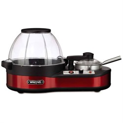 Waring Pro Popcorn Maker with Melting Station, Red WPWPM1000WS