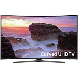 "Samsung UN55MU6500 Curved 55"" 4K Ultra HD Smart LED TV (2..."