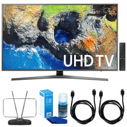 "Samsung 65"" 4K Ultra HD Smart LED TV (2017 Model) w/ TV C..."