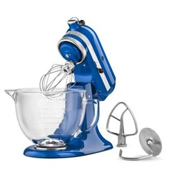 KitchenAid Artisan Series 5-Quart Stand Mixer in Blueberr...