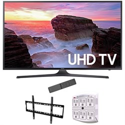 "Samsung 65"" 4K Ultra HD Smart LED TV 2017 Model with Wall..."