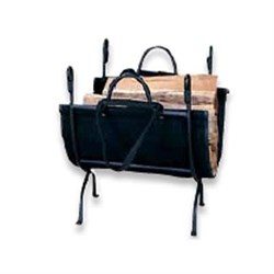 "Blue Rhino UF 18"""" Log Holder Wrought Iron"" BLUW1866"