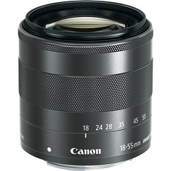 Canon EF-M 18-55mm f3.5-5.6 IS STM Lens For EOS M Camera