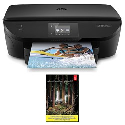 Hewlett Packard ENVY 5660 e-All-in-One Printer with Photoshop Lightroom 5 MAC/PC
