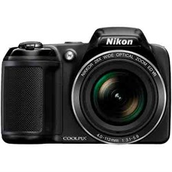 "Nikon Coolpix L840 Digital CAMERA- Black, 16MP, 38X, 3"" L..."