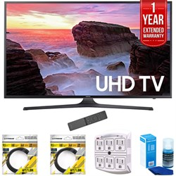 "Samsung 65"" 4K Ultra HD Smart LED TV 2017 Model (UN65MU63..."