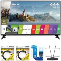 "LG 43"" Class Full HD 1080p Smart LED TV 2017 Model 43LJ55..."