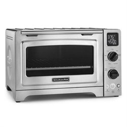 "KitchenAid 12"" Convection Bake Digital Countertop Oven in..."