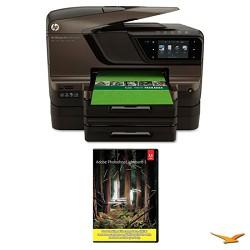 Hewlett Packard Officejet Pro 8600 e-All-in-One Wireless Color Printer w/ Photoshop Lightroom 5