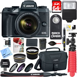 Canon EOS M5 Mirrorless Digital Camera with EF-M 18-150mm...