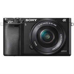Sony Alpha a6000 24.3MP InterCH. Lens Camera w/16-50mm Power Zoom Lens - ***AS IS*** SNILCE6000LBASISOB