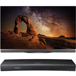 "LG 55"""" OLED55E6P E6 OLED 4K HDR Smart TV w/ UBD-K8500 3D 4K Ultra HD Blu-ray Player"" E1LGOLED55E6P"