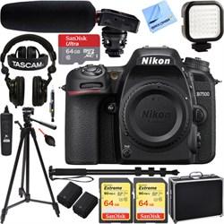 Nikon D7500 20.9MP DX-Format 4K UHD DSLR Camera Body w/ T...