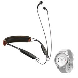 Klipsch X12 Bluetooth Headphones (Ebony Black) w/ Vivomove Activity Tracker E2KLP1063591