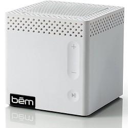 Bem Bluetooth Mobile Speaker for Smartphones White Manufacturer Refurbished