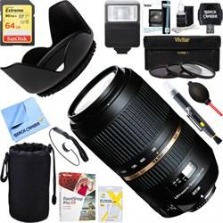 Tamron SP AF70-300mm Di VC USD Lens For Nikon AF + 64GB U...