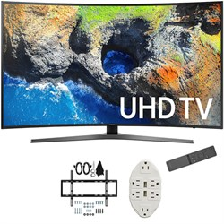 "Samsung 54.6"" Curved 4K Ultra HD Smart LED TV 2017 Model ..."