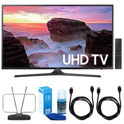 "Samsung 43"" 4K Ultra HD Smart LED TV (2017 Model) w/ TV C..."