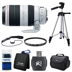 Canon EF 100-400mm f/4.5-5.6L IS II USM Lens (9524B002) B...