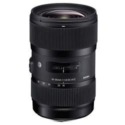 Sigma AF 18-35MM F/1.8 DC HSM Lens for Canon