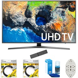 "Samsung 48.5"" 4K Ultra HD Smart LED TV 2017 Model with Cl..."