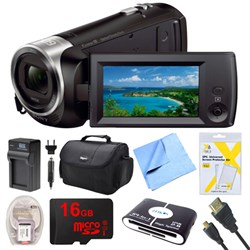 Sony HDR-CX405/B Camcorder Bundle