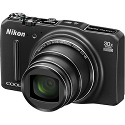 Nikon COOLPIX S9700 16MP Digital Camera w/ 30x Zoom, Wi-Fi , GPS - Factory Refurbished