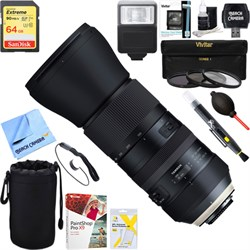 Tamron SP 150-600mm F/5-6.3 Di VC USD G2 Zoom Lens for Ni...