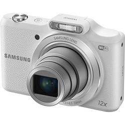 Samsung WB50F 16.2MP 12x Opt Zoom Smart Digital Camera - White