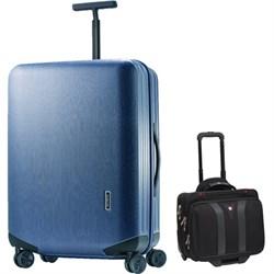 "Samsonite Inova Luggage 30"" Hardside Spinner (Indigo Blue..."