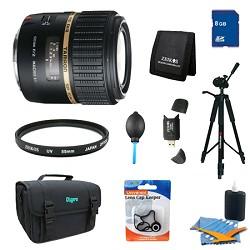 Tamron SP AF60mm F2 Di II LD (IF) 1:1 Macro Lens Pro Kit ...