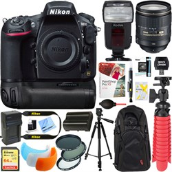 Nikon D810 FX-format Digital SLR + 24-120mm VR Lens Power...