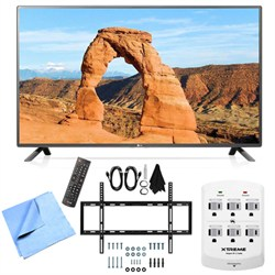 LG 55LF6000 - 55-inch Full HD 1080p 120Hz LED HDTV Mount & Hook-Up Bundle