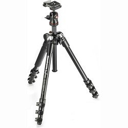 Manfrotto BeFree Compact Lightweight Tripod for Travel Photography (MKBFRA4-BH)