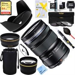 Olympus M.ZUIKO DIGITAL ED 12-50mm F3.5-6.3 EZ Lens (Blac...