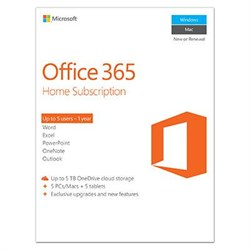Click here for Microsoft Office365 Home Subscription P2 prices