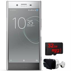 """Sony Xperia XZ 64G 5.5"""" Smartphone Unlocked Chrome w/32GB..."""