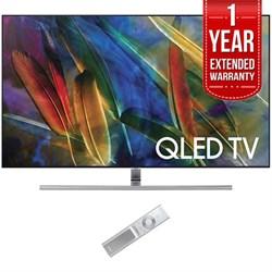 """Samsung Flat 65"""" 4K UHD Smart QLED TV (2017 Model) w/ 1 Y..."""