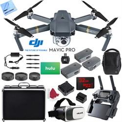 DJI Mavic Pro 4K Camera Quadcopter Drone 2 Extra Batterie...