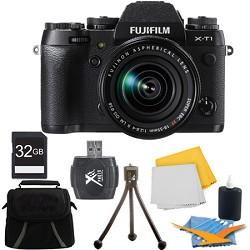 Fujifilm X-T1 16.3MP Full HD 1080p Video Mirrorless Digital Camera 18-55mm Lens 32GB Kit