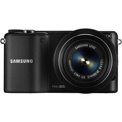 Samsung NX2000 20.3MP Black Smart Digital Camera with 20-50mm F/3.5-5.6 ED II Lens