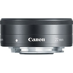Canon EF-M 22mm f/2 STM Lens For EOS M Camera