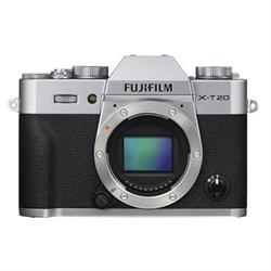 Fuji X-T20 Mirrorless Digital Camera Body - Silver
