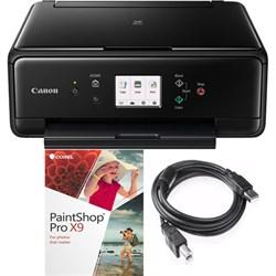 Canon PIXMA TS6120 Wireless All-in-One Compact Black Prin...