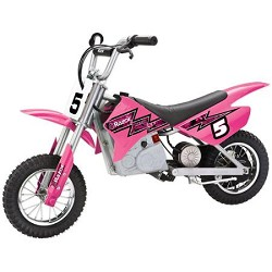 Razor MX350 Dirt Rocket Electric Motocross Bike (ages 12 and up)- Pink
